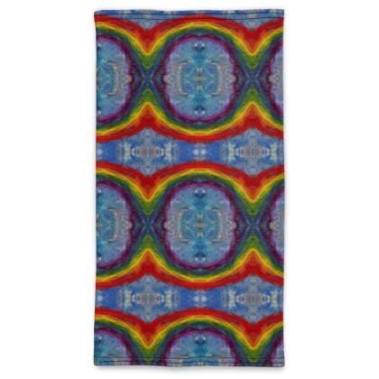 Rainbow Design Neck Tube Scarf Face Protector