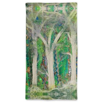 Woodland Codex Pull Up Face Mask Scarf
