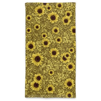 Flowers Neck Tube Scarf