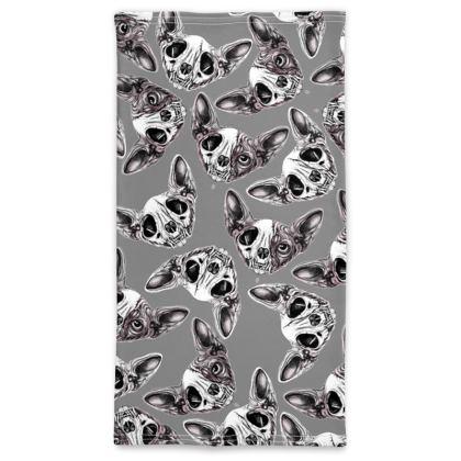 Sphybx skull pattern Neck Tube Scarf