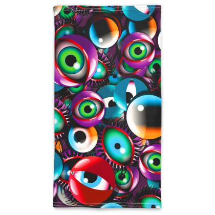 Eye Balls Neck Tube Scarf