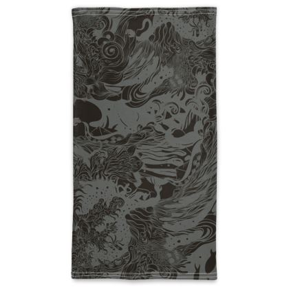 dark wave Neck Tube Scarf