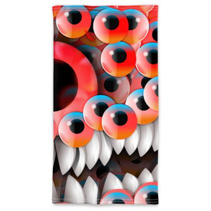 monster eyes Neck Tube Scarf