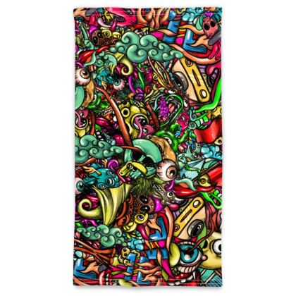 doodles strong Neck Tube Scarf