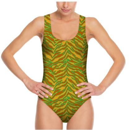 Tiger Print - Safari Swimsuit
