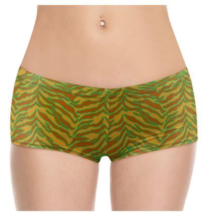 Tiger Print - Safari Shorts