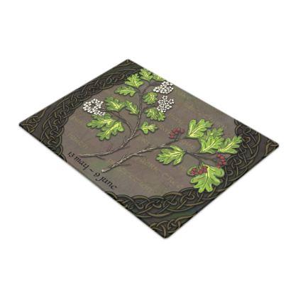 Tree Calendar Hawthorn Chopping Board