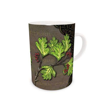 Celtic Hawthorn China Mug