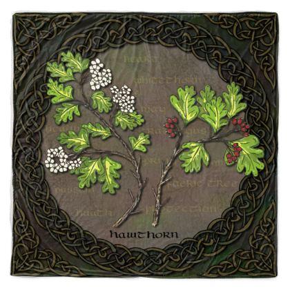 Celtic Hawthorn Throw