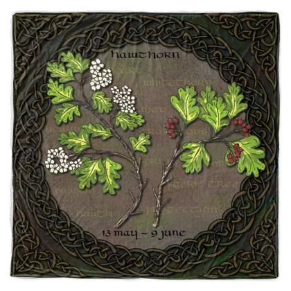 Tree Calendar Hawthorn Throw