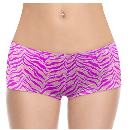 Tiger Print - Pink & Pink Shorts