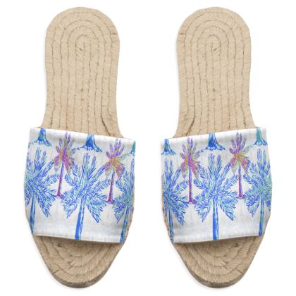 Oasis Collection in blue Sandal Espadrilles