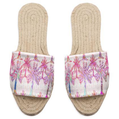 Oasis Collection in magenta Sandal Espadrilles