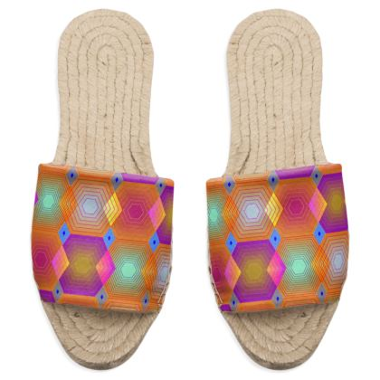 Geometrical Shapes Collection Sandal Espadrilles