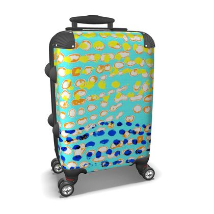 Textural Collection multicolored Suitcase