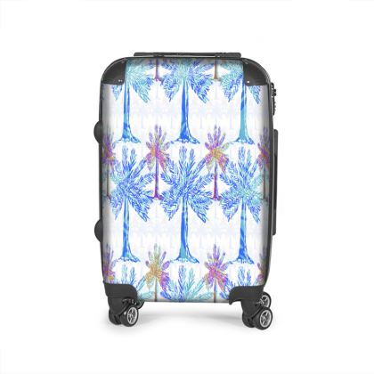 Oasis Collection in blue Suitcase