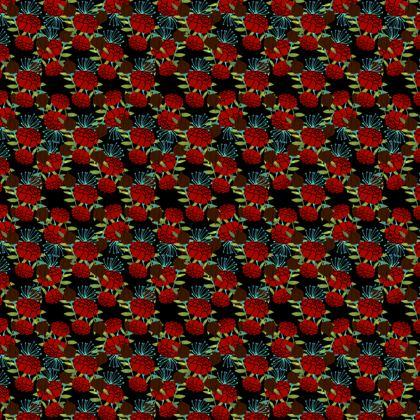 Velour Short Skater Dress