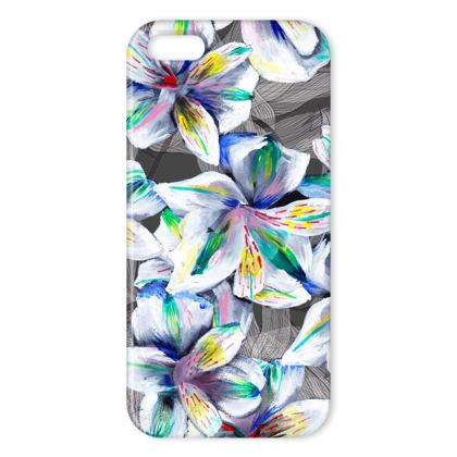 Colourful Alstroemeria iphone cover