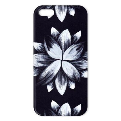 Monochrome daisy iphone cover