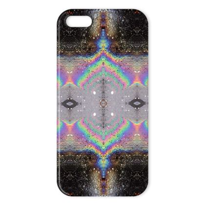 Oil reflection iPhone cover