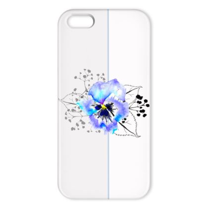 Pansy iphone cover