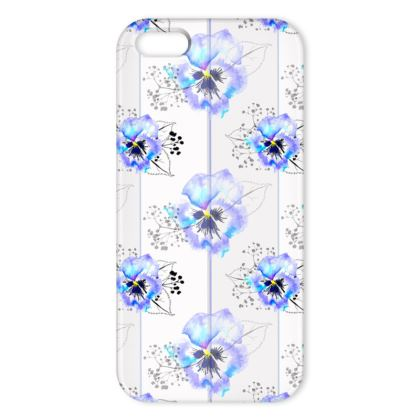 Pansy repeat iPhone cover