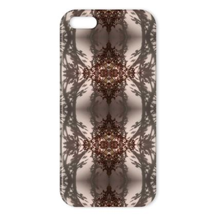 Floral reflection iphone cover