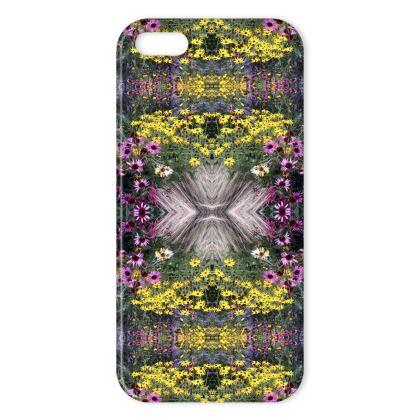 Flower garden iPhone cover