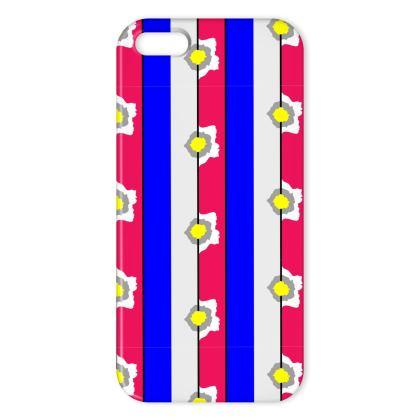 Graphic stripe iphone cover