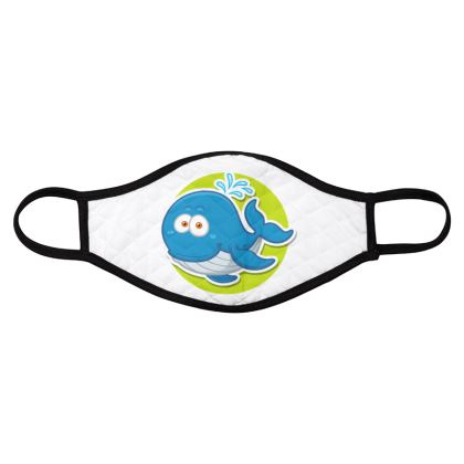 sea life cute animals for kids face masks pack of four