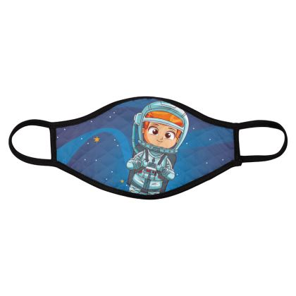 boys space collection face masks pack of four