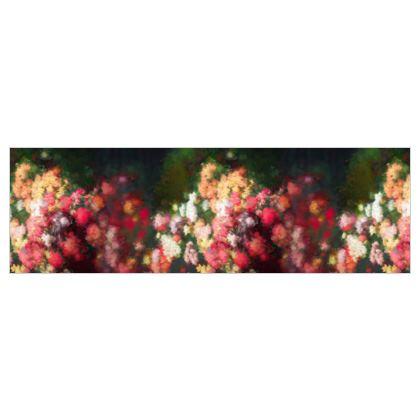 Heart's Garden 100% Silk Georgette Wrap