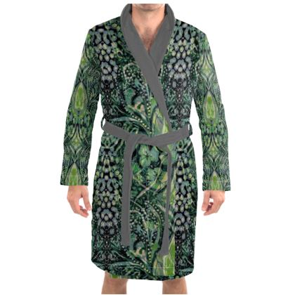 Green Mens/Womens Dressing Gown