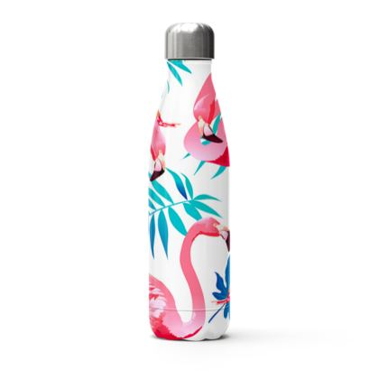 flamingo stainless steel thermal bottle