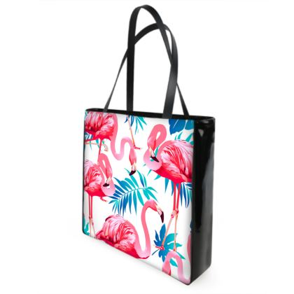 flamingo shoper bag