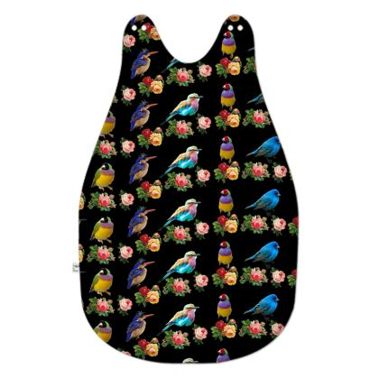 Birds and Roses Baby Sleeping Bag