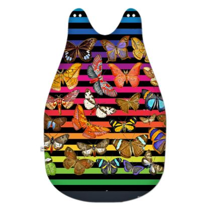 Rainbow Butterflies Baby Sleeping Bag