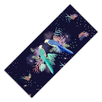 Maninha Birds - Beach Towel