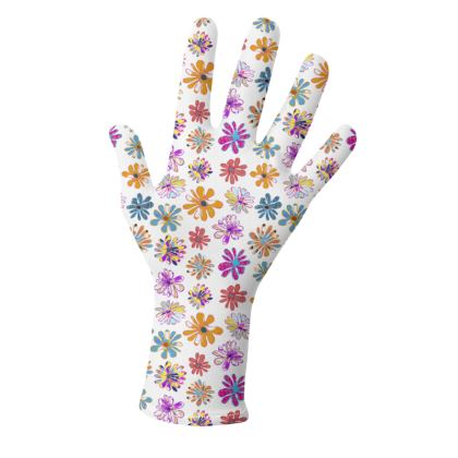 Rainbow Daisies Collection Gloves