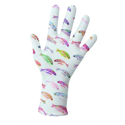 Tropical Fish Collection Gloves
