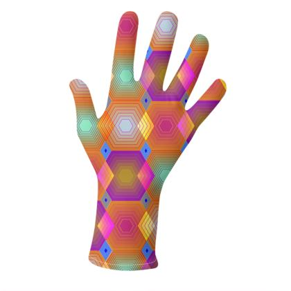 Geometrical Shapes Collection Gloves