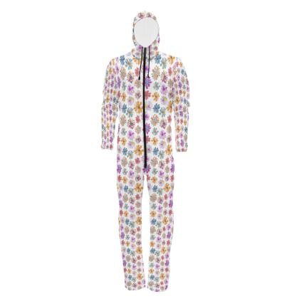 Rainbow Daisies Collection Hazmat Suit