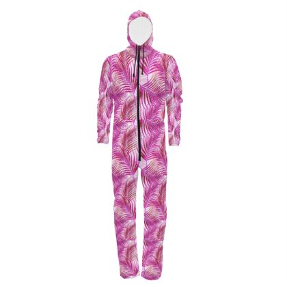 Tropical Garden in Magenta Collection Hazmat Suit