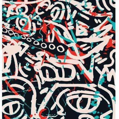Posca Street Art Graffiti Chair by Signorino