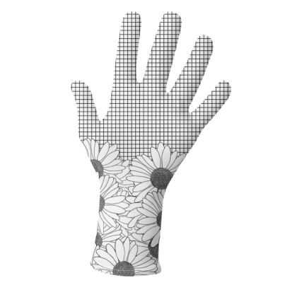 Daisy Grid and Daisy Boarder Gloves