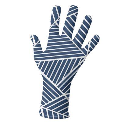 Ab Geo Navy Blue Gloves