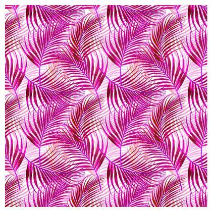 Tropical Garden Collection in Magenta Double Deckchair