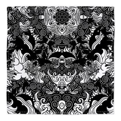 Floral Symmetry Bandana