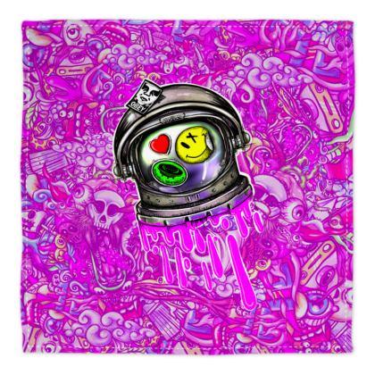 Doodles Space Bandana
