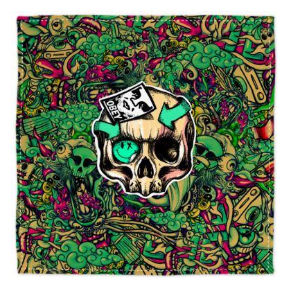 Doodles Skull Bandana